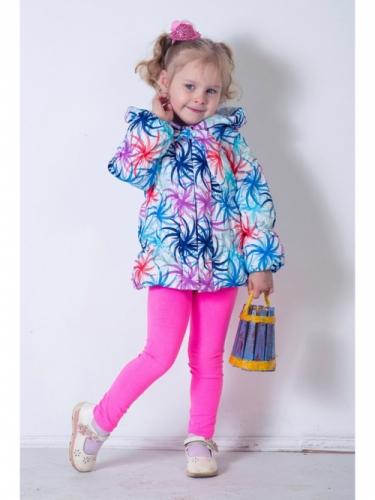 Куртка для девочек, размер 24, весна-осень, сиреневая Modus L, Каприз