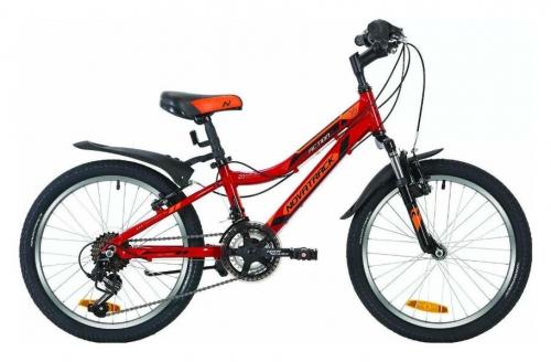 Велосипед Novatrack Action, красный, рама 20