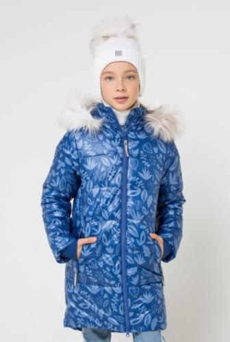 Куртка для девочки Crockid ВКБ 38043/н/1 ГР размер 152-158