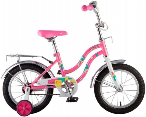 Велосипед Novatrack Tetris, розовый, рама 14