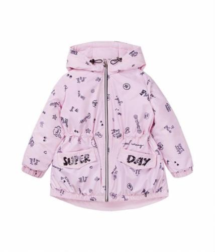 Куртка для девочки, размер 6 (116-60) демисезонная, сиреневая Bellbimbo 191176