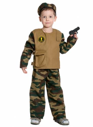 Карнавальный костюм Спецназ, 5-7 лет