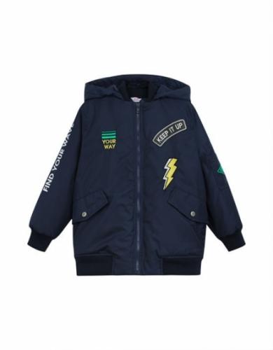 Куртка для мальчика, размер 6 (116-60) демисезонная, темно-синяя Bellbimbo 191211