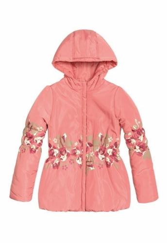 Куртка для девочек, размер 8, весна-осень, красная Pelican GZWL483