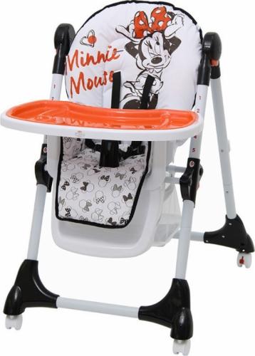 Стульчик для кормления Polini Disney Baby 470 Микки Маус Белый