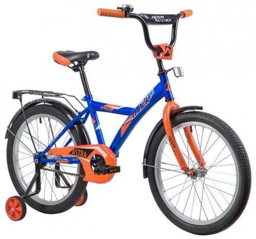 Велосипед Novatrack Astra, синий, рама 20