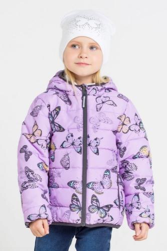 Куртка для девочки Crockid ВК 32064/н/2 ГР размер 98-104