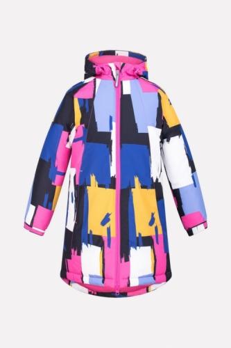 Куртка для девочки Crockid ВК 38038/н/2 ГР размер 122-128