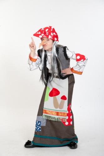 Карнавальный костюм Баба Яга, 5-7 лет