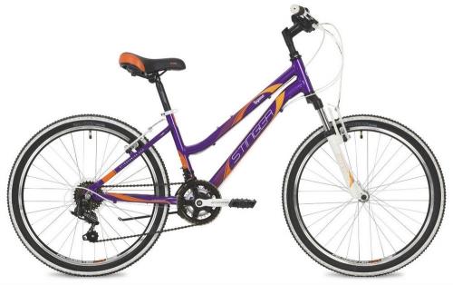 Велосипед Stinger Laguna, фиолетовый, рама 24