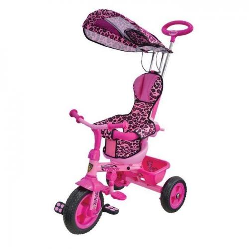 Велосипед Navigator Lexus Safari Trike, розовый леопард, трехколесные (до 3 лет)