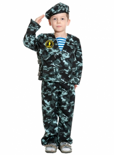 Карнавальный костюм Спецназ-2, 7-9 лет