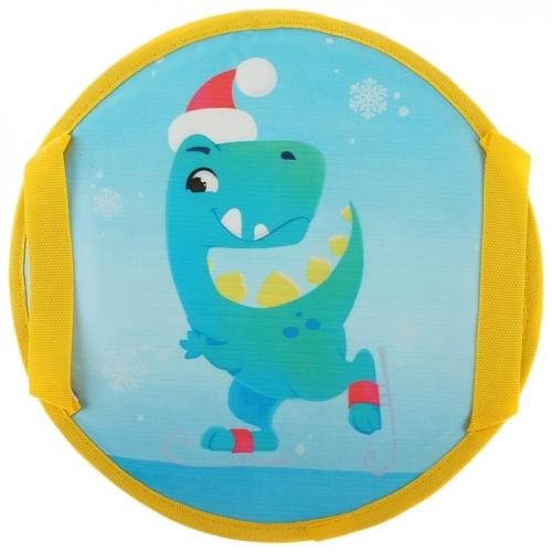 Ледянка Dino диаметр 35 см, цвет голубой