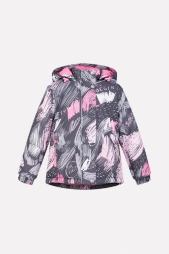 Куртка для девочки Crockid ВК 38033/н/1 ГР размер 110-116