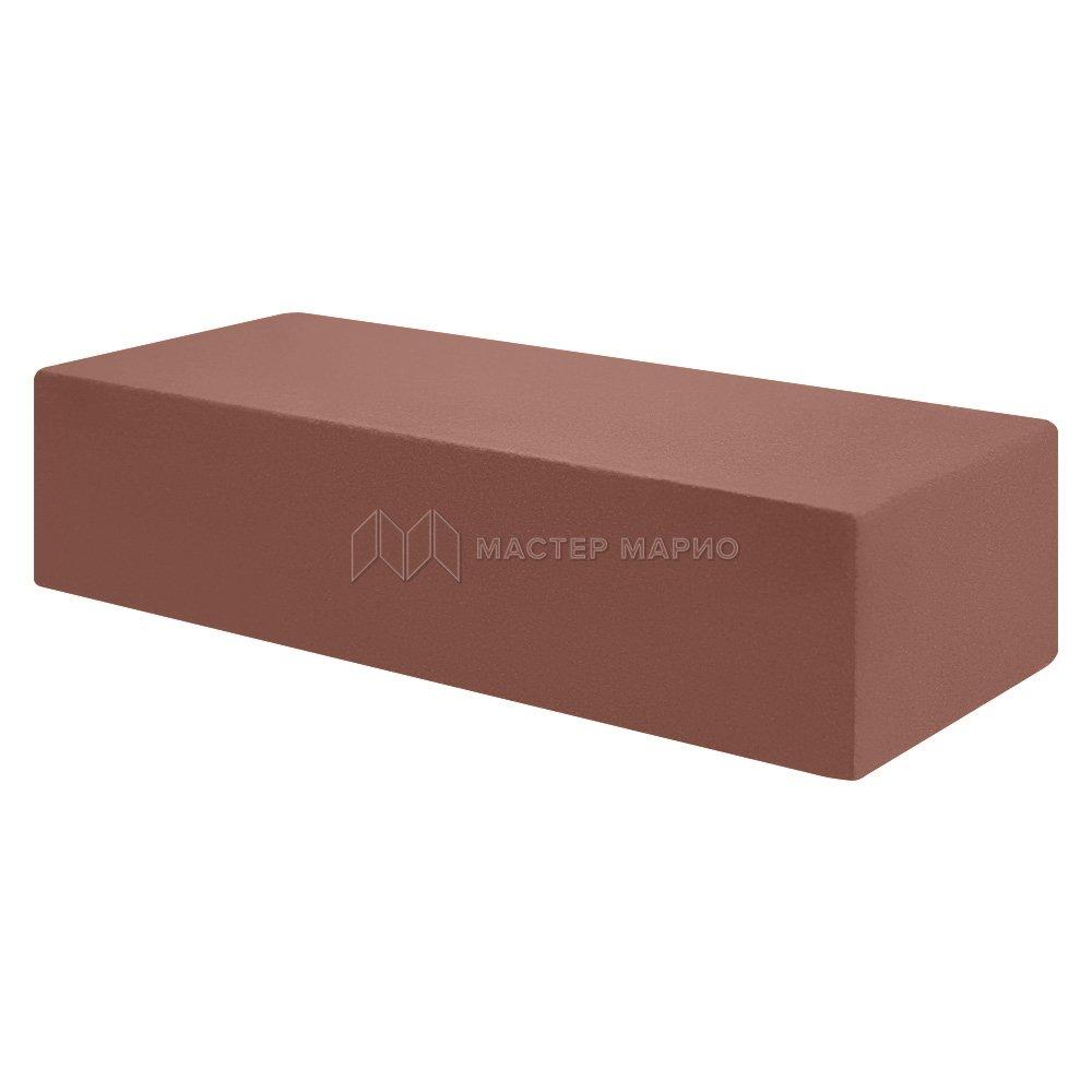 Кирпич лицевой силикатный «Шоколад» полнотелый одинарный