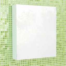 Шкаф-зеркало Comforty Римини 60 Белый