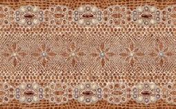 Декор Нефрит-керамика Люкс 04-01-1-11-03-15-173-0 50x31 Коричневый