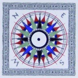 Вставка Сокол Регата D746 орнамент полуматовая 11х11