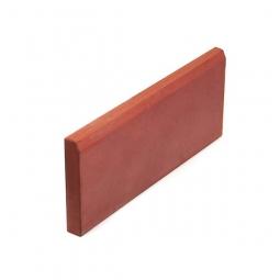 Бордюр «Садовый» малый Вибролитой 500х210х35 Красный