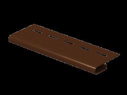 Завершающая планка Ю-Пласт Classic коричневая