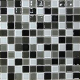 Мозаика Bonаparte Carbon mix серая глянцевая 30x30