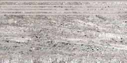 Ступени Kerranova Terra полированный светло-серый 29.4x60