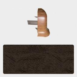 Наружный угол Т-пласт 47 мм Орех Бразильский Темный