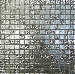 Мозаика Bonаparte Shik gold - 3 серебро глянцевая 32.7х32.7