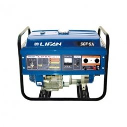 Генератор бензиновый Lifan 5GF-5A 5000/5500 Вт ручной/электрический запуск