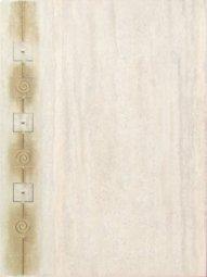 Декор Сокол Травертин D-535 TN1 орнамент матовый 33х44