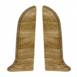 Заглушка торцевая левая и правая (блистер 2 шт.) Salag Дуб Винный 56