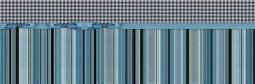 Декор Undefasa Colorgloss Decorado Chic Azul синий 25х75
