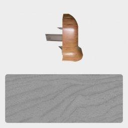 Наружный угол Т-пласт 47 мм Сосна Серая