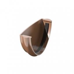 Заглушка желоба Технониколь (Verat) Коричневая (125х82 мм)