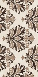 Вставка Golden Tile Lorenzo Intarsia бежевый  Н41301 300х600