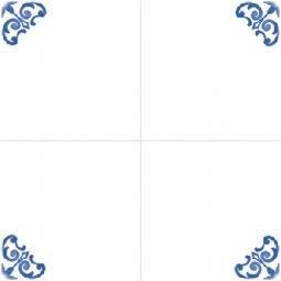 Плитка для стен Сокол Катарина KR5 орнамент полуматовая 22х22