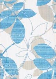 Декор Береза-керамика Ретро голубой 25х35