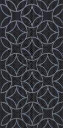 Декор Нефрит-керамика Аллегро 04-01-1-08-03-04-100-2 40x20 Чёрный
