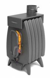 Печь отопительная Термофор Огонь-батарея 5 Лайт антрацит дровяная