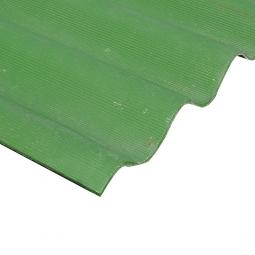 Шифер кровельный 7-волновой 1750х980х5.8мм, зеленый