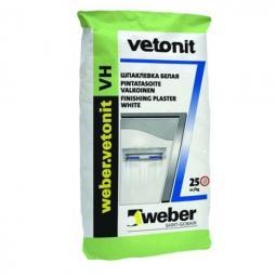 Шпатлевка Weber.Vetonit VH финишная влагостойкая 25 кг