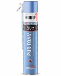 Монтажная пена Kudo Home 50+ бытовая всесезонная (1000 мл)