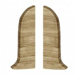Заглушка торцевая левая и правая (блистер 2 шт.) Salag Дуб Каньон 56