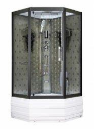 Душевая кабина Arhimed 8073-100 100x100 с высоким поддоном