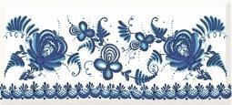 Декор Cersanit Deepblue DB2G031D Синий 20X44