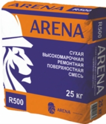 Гидроизоляционная смесь Arena RepairMaster R500 тиксотропная белая 25 кг