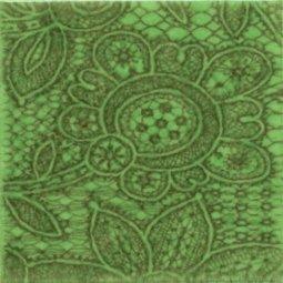Декор Kerama Marazzi Тантра AD\B94\1221T 9.9х9.9 зеленый