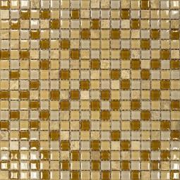 Мозаика Elada Crystal+Stone SH-415002 карамельный микс 30.5x30.5