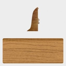 Заглушка торцевая правая (блистер 4 шт.) Т-пласт 045 Дуб Европейский