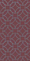 Декор Нефрит-керамика Аллегро 04-01-1-08-03-47-100-2 40x20 Бордовый